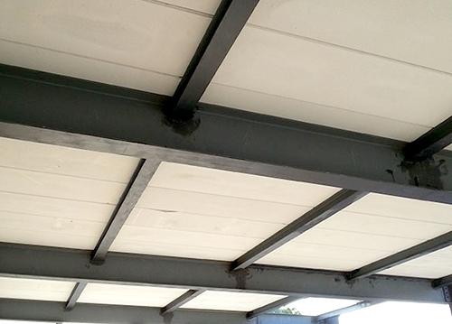 厂房屋面板案例